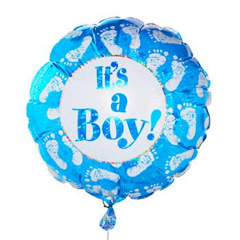 327 its a boy balloon
